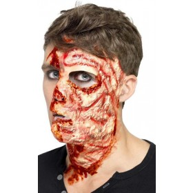 Burnt Face Scar, Latex (Fancy Dress Accessory)