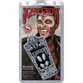 Deluxe Adult Werewolf Fangs (Fancy Dress Accessory)