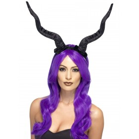 Demon Horns Headband Fancy Dress Accessory