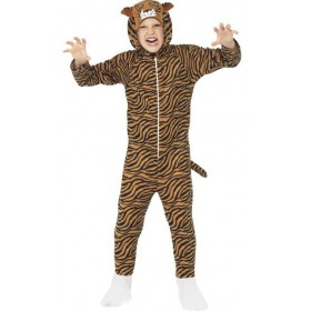 Childs All In One Tiger Fancy Dress Costume