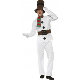 Mr Snowman Fancy Dress Costume Mens (Christmas)