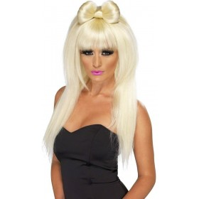 Pop Sensation Wig Fancy Dress Ladies - Blonde