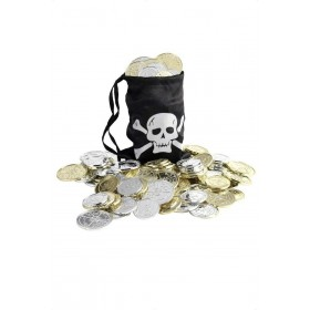 Pirate Coin Bag - Fancy Dress (Pirates)