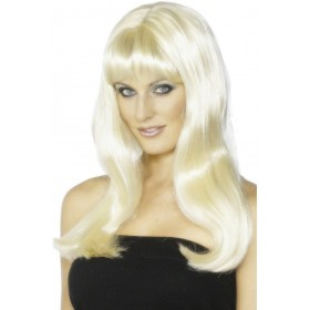 Mystique Wig - Fancy Dress Ladies - Blond