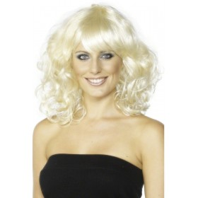 Foxy Wig - Fancy Dress Ladies - Blonde