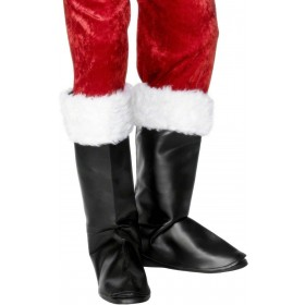 Santa Boot Covers - Fancy Dress (Christmas)