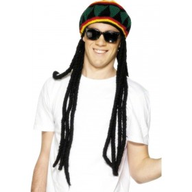 Rasta Beret - Fancy Dress (Hawaiian)