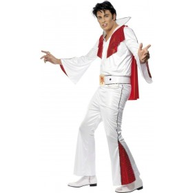 Elvis Fancy Dress Costume Mens Size (Music)