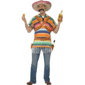 Tequila Shooter Guy Fancy Dress Costume Mens
