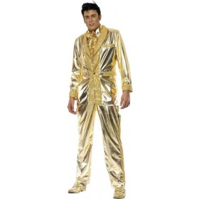 Elvis Fancy Dress Costume Mens (Music)