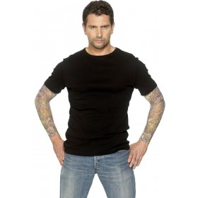 Tattoo Arm Sleeve - Fancy Dress Mens