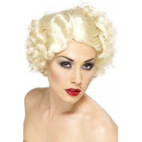 Hollywood Icon Blonde Wig - Fancy Dress Ladies (1920S) - Blonde