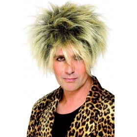 Wild Boy Wig - Fancy Dress Mens (1980S) - Blond