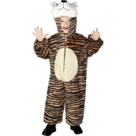 Tiger Costume Age 7-9  Fancy Dress Costume (Animals)