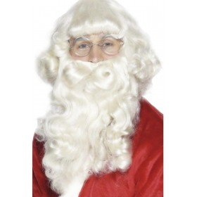 Luxury Santa Beard - Fancy Dress Mens (Christmas)