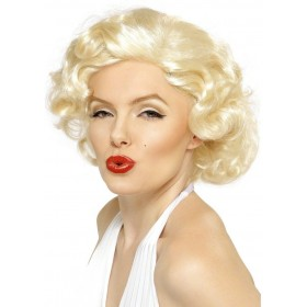 Blonde Bombshell Wig - Fancy Dress Ladies (Music) - Blonde
