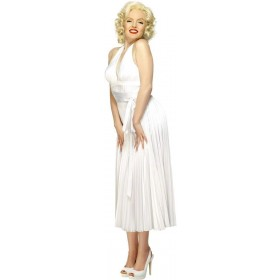 Marilyn Monroe Halterneck Dress - Fancy Dress Ladies (Music)