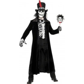 Voodoo Man Fancy Dress Costume Mens Size 38-40 S (Halloween)