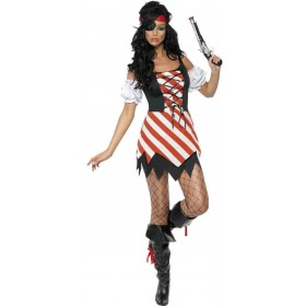 Fever Pirate Fancy Dress Costume Ladies (Sexy)