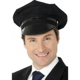 Chauffer Hat - Fancy Dress Mens