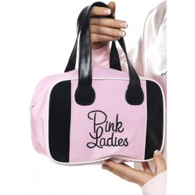 Pink Lady Bowling Bag - Fancy Dress Ladies (Film)