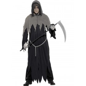 Grim Reaper Robe Costume Fancy Dress