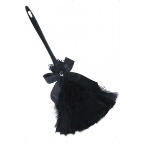 Gothic Feather Duster - Fancy Dress Ladies (Halloween)
