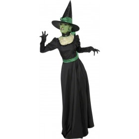 Wicked Witch Fancy Dress Costume Ladies (Halloween)