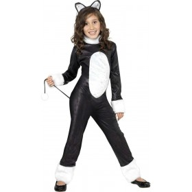 Cool Cat Fancy Dress Costume Girls (Halloween)