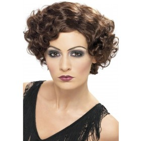 1920S Flapper Wig - Fancy Dress Ladies (1920S) - Brown