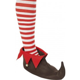 Elf Shoes - Fancy Dress Mens (Christmas)