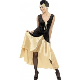 20S Gatsby Girl Fancy Dress Costume Ladies (1920S)