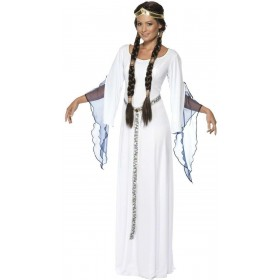 Medieval Maid Fancy Dress Costume Ladies (Medieval)