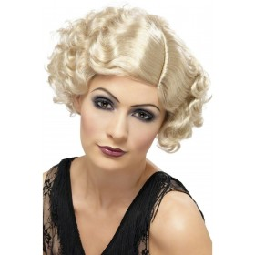 1920S Flapper Wig - Fancy Dress Ladies (1920S) - Blonde