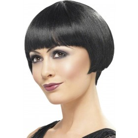 1920S Bob Wig - Fancy Dress Ladies (1920S)  - Black