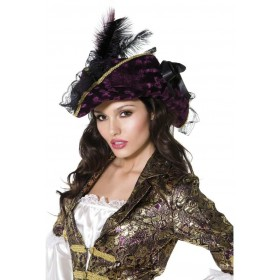Fever Marauding Pirate Hat - Fancy Dress Ladies (Sexy)
