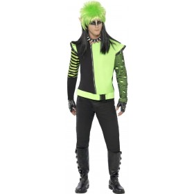 Punk Ivy Elf Fancy Dress Costume Mens Size 38-40 S (Christmas)