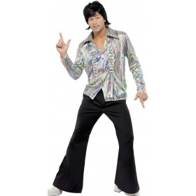 70S Retro Fancy Dress Costume Mens (1970S)