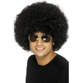 70S Funky Black Afro Wig - Fancy Dress (1970S)