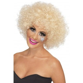 70S Funky Blonde Afro Wig - Fancy Dress (1970S)