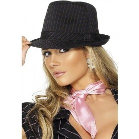Fever Gangster Trilby Hat - Fancy Dress Ladies (Sexy)