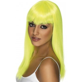 Glamourama Wig - Fancy Dress Ladies - Yellow