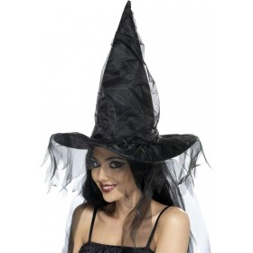Witches Hat - Fancy Dress Ladies (Halloween)