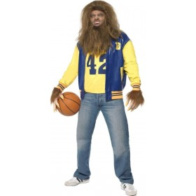 Teen Wolf Fancy Dress Costume Mens Size 38-40 S