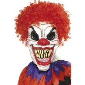 Scary Clown Mask - Fancy Dress Mens (Halloween)