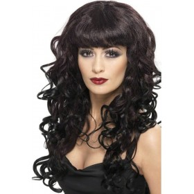 Siren Wig - Fancy Dress - Plumb