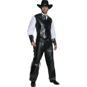 Authentic Western Gunslinger Costume Mens(Cowboys/Native Americans)