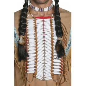 Western Authentic Indian Breastplate - Fancy Dress Mens (Cowboys/Indians)