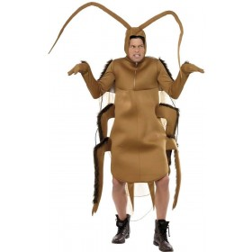 Cockroach Fancy Dress Costume Mens