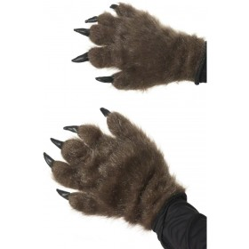 Hairy Monster Hands - Fancy Dress Mens (Halloween)